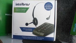 Telefone Headset Auricular Intelbras Modelo Hsb 50 Novo