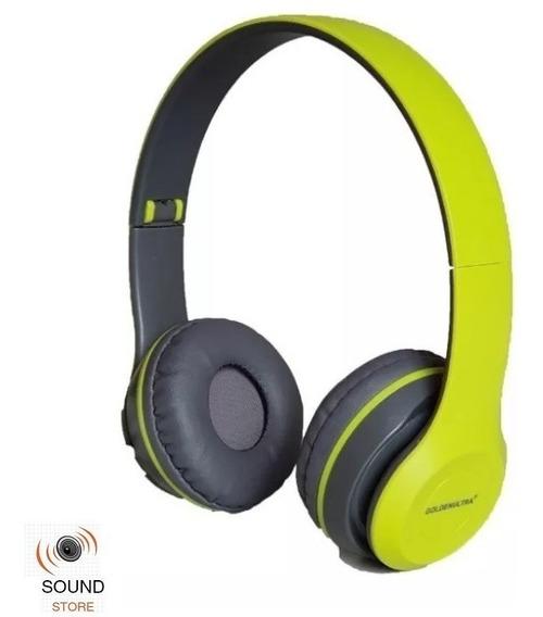 Fone Ouvido Sem Fio Bluetooth 4.1 Celular Micro Sd Fm P2