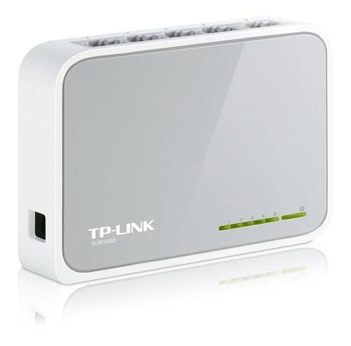 Switch Hub 5 Bocas Rj45 Tp-link Tl-sf1005d 10/100 5 Bocas