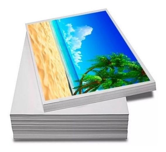 Papel Fotográfico Premium A4 Glossy 135g 500 Folhas Premium