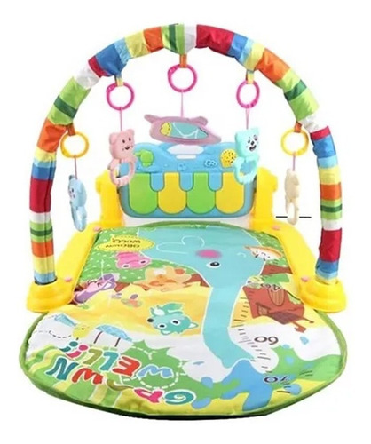 Alfombra Gimnasio Interactivo Bebe Infantil Musical Piano Hb