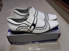 Sapato Social Branco - Noivo - Casamento
