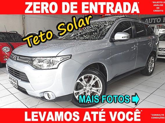 Mitsubishi Outlander 2.0 Automática Teto / Carro Barato Aqui