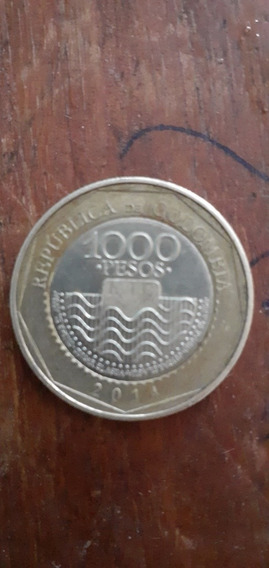 Moneda De 1000 Pesos Colombianos