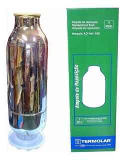 Repuesto Termolar Ampolla Vidrio 1 Litro Tienda Pepino Chimarrita Mundial Personal Termo Frio Calor
