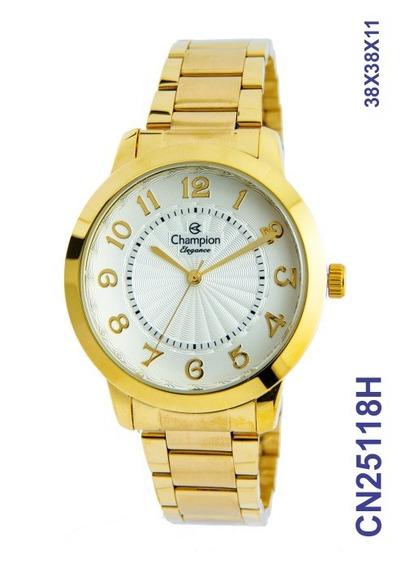 Relógio Champion Feminino Cn25118h Original C/ Nf