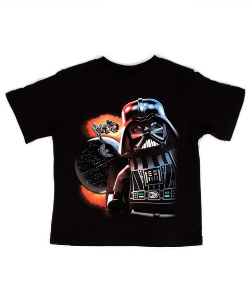 Playera Para Niño Lego Estampado Star Wars Darth Vader