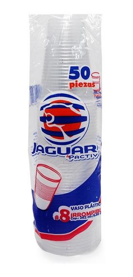 Jaguar Vaso Plastico 8 Irrompible 20/50 Pz