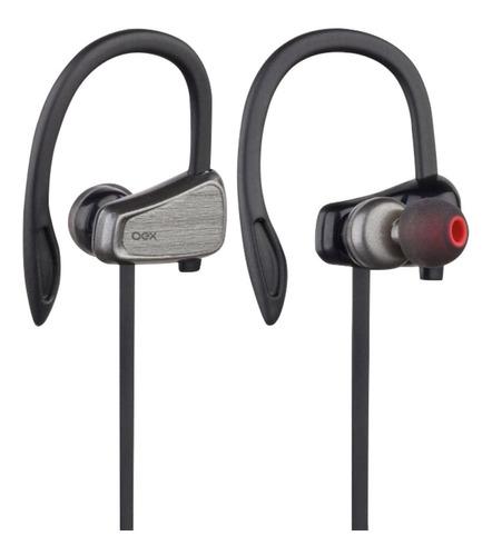 Fone De Ouvido Esportivo Bluetooth Oex Flaunt Fn410 Chumbo