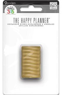 Anillos Dorados The Happy Planner Create 365