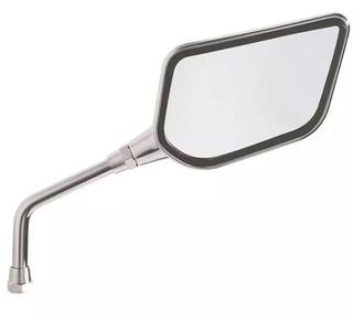 Espelho Retrovisor Direito Tipo Asa Cromado Marca Gvs