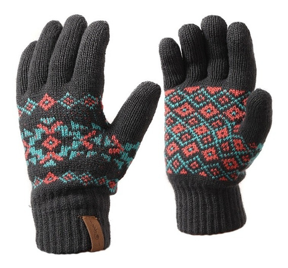 Guantes Mujer Nordic Glove Gris Lippi