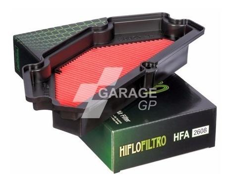 Imagem 1 de 1 de Filtro De Ar Hiflo Kawasaki Er6n 650cc 2013-2016 Hfa2608