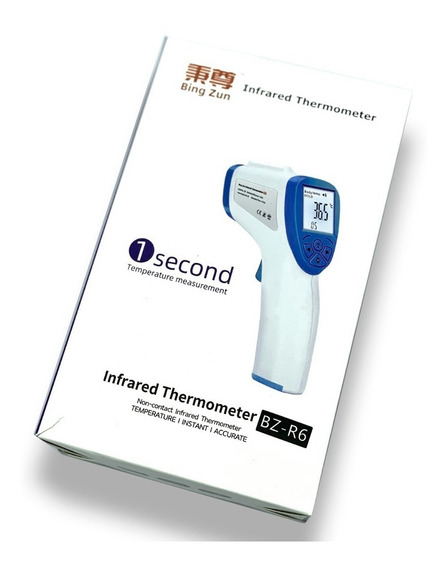 Termómetro Digital Infrarrojo Medico Corporal Laser Frente