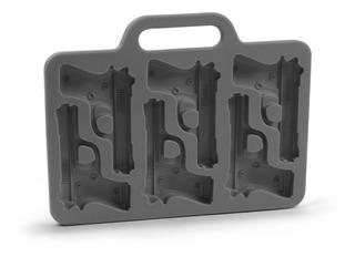Liquidación Molde Silicon Hielos Pistolas Original Fred Bar