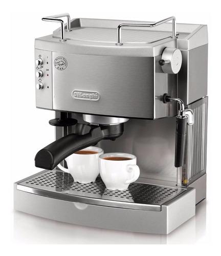 Cafetera Espresso Expresso Italiana Delonghi 1 Cuerpo, Acero