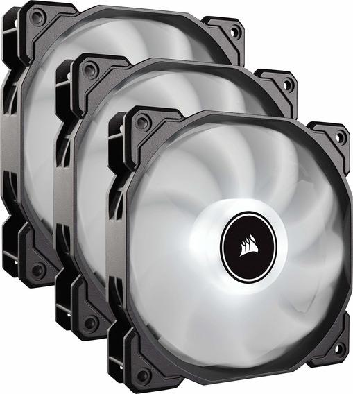 Corsair Af120 Led Low Noise Cooling Fan Triple Pack White...