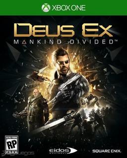 Deus Ex Mankind Divided Day One Xbox One Nuevo Envio Gratis