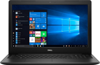 Notebook Dell Intel I3 8gb 1tb + 128gb Ssd 15,6