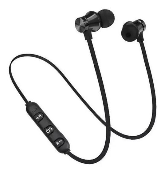 Fone De Ouvido Xt-11 Bluetooth 4.2 Magnético Estéreo Sem Fio