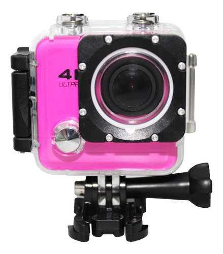 Câmera Action Go Cam Pro Sport Wi-fi Extra Hd 4k 2.0 Lcd