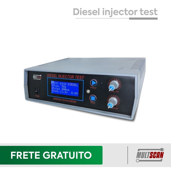 Teste De Bico Injetor Diesel