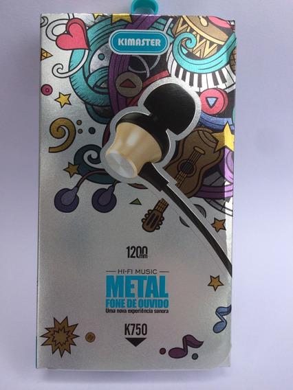 Fone Ouvido K750 Kimaster 1200mm