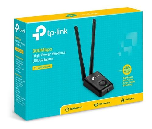 Tarjeta De Red Usb Wifi Tplink Tl-wn8200nd Doble Antena