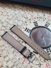 Pulseira Para Relógio Omega Medida 19 Mm Em Couro Original !