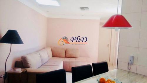 Imagem 1 de 15 de Residencial Orquídeas - Apartamento A Venda No Bairro Nova Cidade Jardim - Jundiaí, Sp - Ph10617