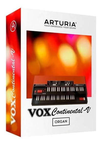 Software Arturia Vox Continental V Original Licencia Oficial