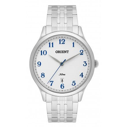 Relógio Orient Masculino Mbss1311 B2sx Prata