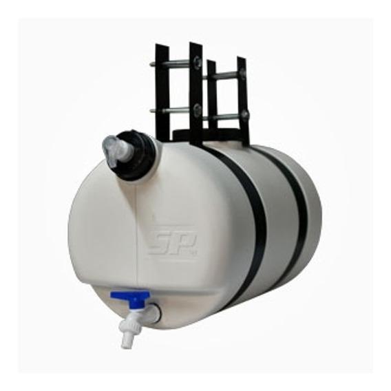 Tanque De Agua Para Remolque 25lts Blanco Completo