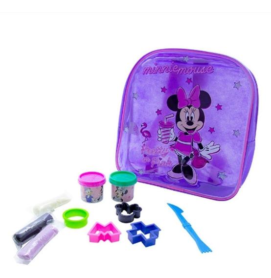Mochila Infantil Com Acessórios Minnie