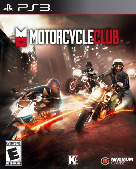 Jogo Motorcycle Club Playstation 3 Ps3 Pronta Entrega Game