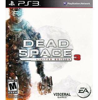 Dead Space 3 Limited Edition Ps3, Disco, Nuevo Y Sellado
