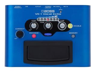 Procesador De Efectos P/voces Vocal Echo Ve-1 Boss