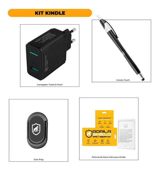 Kit Para Kindle - Gorila Shield