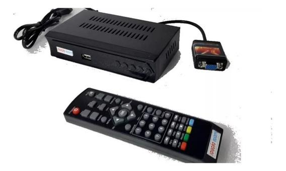 Transforme Seu Monitor Vga Em Tv Digital Hdmi C/ Controle
