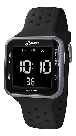 Relógio X-games Digital Quadrado Original Modelo Xgppd091