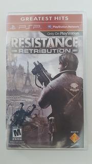 Resistance: Retribution (psp) - Nuevo Sellado