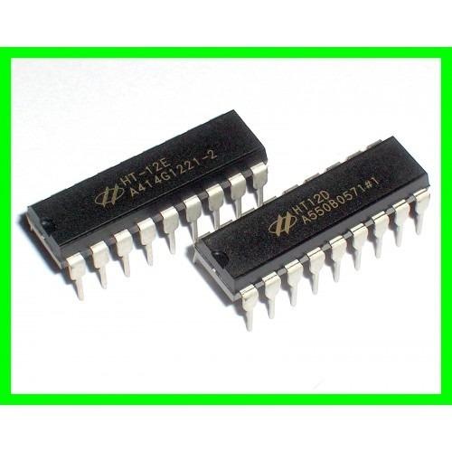 Par Ht12e (encoder) + Ht12d (decoder)