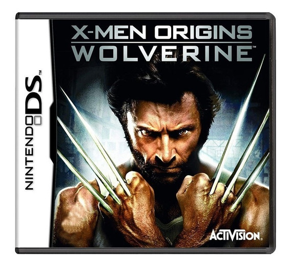 Xmen Origins Wolverine Ds Mídia Física Pronta Entrega