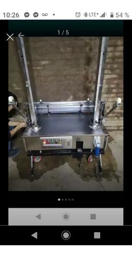 Máquina Para Tarrageo De Pared Automática