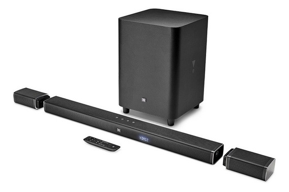 Soundbar Jbl 5.1 218w Rms C/ Subwoofer Bluetooth, Aux E Hdmi