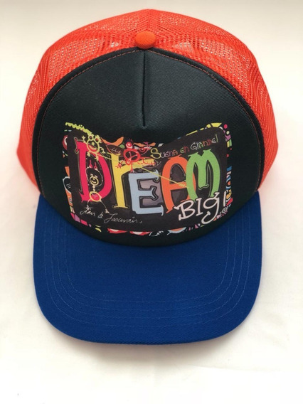 Gorra Diseño Dream Big, Ideal Para Deporte, Ejercico, Playa