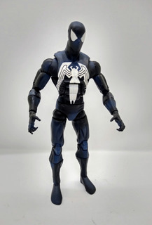 Figura Spiderman Black Marvel Hasbro 2006