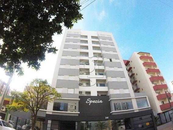 Residencial Spezia- Apartamento Novo No Centro - Ap0605