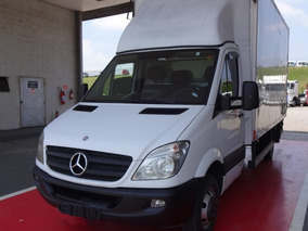 Mercedes-benz Sprinter 515, 2013, Branca, Baú Carga Seca
