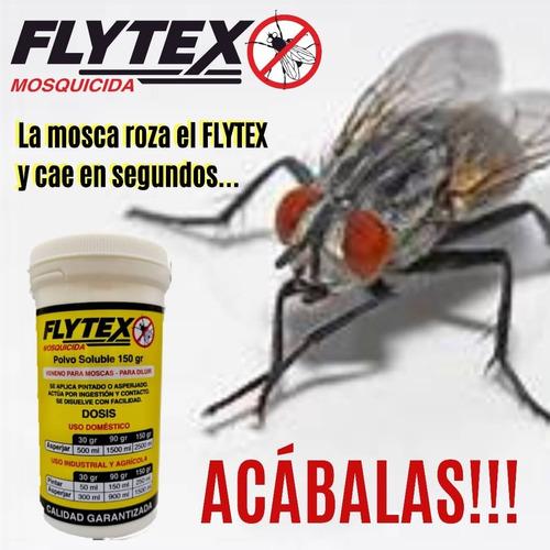 Mosquicida Flytex  400 Gramos Caja De 4 Unidades